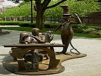dr. seuss national memorial sculpture garden public art in ma