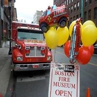 boston fire museum birthday party kids MA