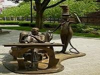 dr. seuss national memorial sculpture garden public art in ma